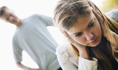 Boyfriend abusing girlfriend