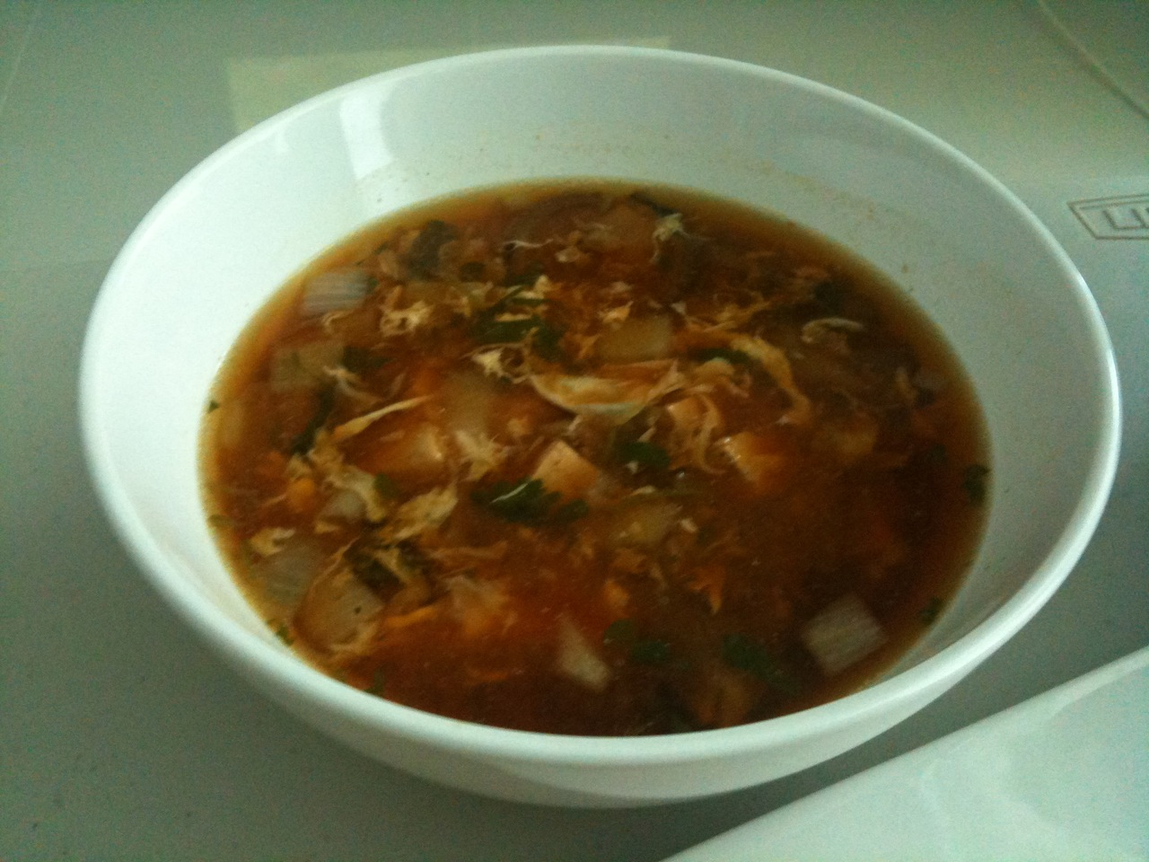 Hot and Sour Soup:
